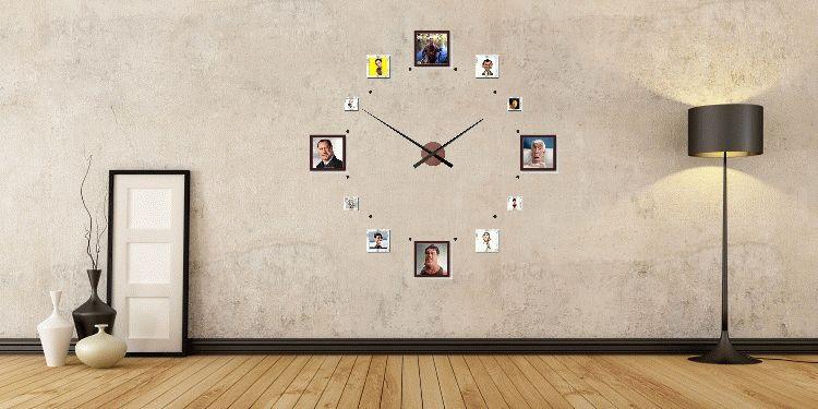 Часы 24 часовые настенные Ø 1,5 метра