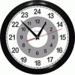 Часы 12 +12 = 24 часа - Часы 12 часовые - обычного хода с двумя шкалами по 12 часов