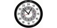 Часы 12 +12 = 24 часа