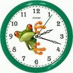 Часы 12 часовые с картинками разных тематик