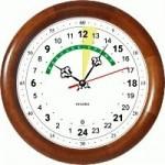 Часы для работы с возможностью контроля рабочего и обеденного времени