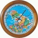 Географические часы - 24 часовые