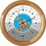 Географические часы SP-17zn - 24 часового цикла