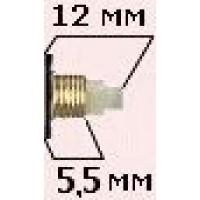 Механизм 5,5/12 мм - 24 часовой - патент - реверс