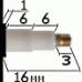 Механизм 24 часовой, длинна осей 16 мм, усиленный - патент