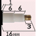 Механизм 24 часовой, длинна осей 16 мм, усиленный - реверс - патент