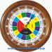 Славянские 14-01 - часы 16 часовые - адаптация в цвет корпуса Бук.