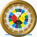 Славянские 14-05 - часы 16 часовые - адаптация в цвет корпуса Венге