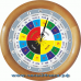 Славянские 16-001 - часы 16 часовые - расположение 16 часов вверху