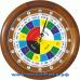 Славянские 16-02 - часы 16 часовые - вверху круга расположены 16 часов