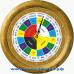 Славянские 16-4 - часы 16 часовые - вверху круга расположены 16 часов